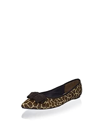 Delman Women's Suri Ballet Flat (Giraffe)