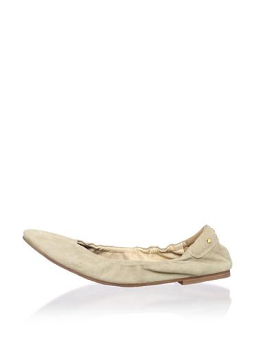 Matt Bernson Women's Waverly Ballet Flat (Sahara)