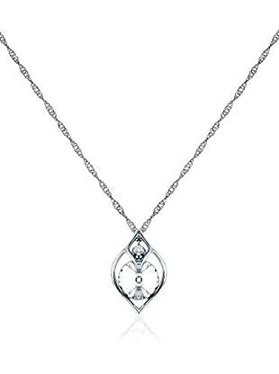 Diamond Style Set Halskette und Anhänger Eden Pendant
