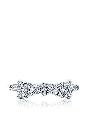 Diamond Style Bow Ring (Medium)