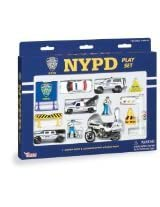 Daron Nypd Playset, 14-Piece
