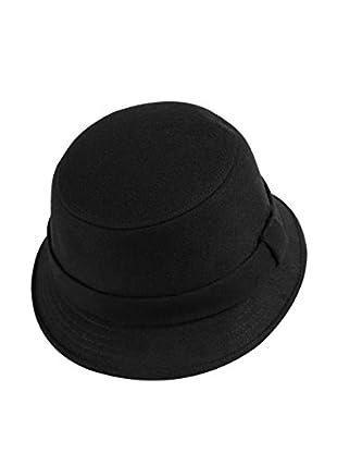 Lancaster Sombrero  Cloche Negro