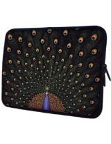 MyGift 13 Inch Fascinating Notebook Sleeve Bag Carrying Case - Peacock