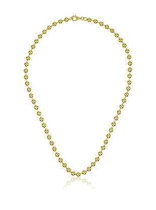 Yocari Collar plata de ley 925 milésimas bañada en oro