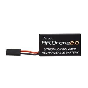【クリックで詳細表示】バッテリー 11.1V-1000mAh (クレードル仕様) (AR.Drone 2.0専用) PF070034