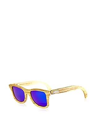 FELER SUNGLASSES Sonnenbrille Regular Zebrano (50 mm) beige/braun