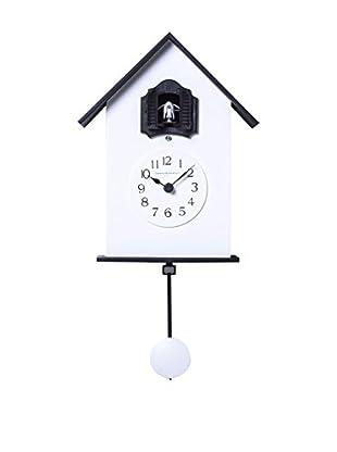 Diamantini & Domeniconi Reloj de Cuco Meridiana Blanco/Negro