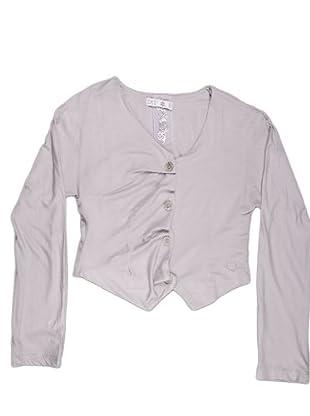 Naf Naf Chevignon Camiseta Pico (gris)