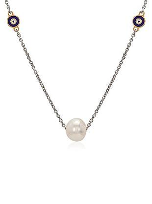 Divas Diamond Collar Good Luck Eye Pearl