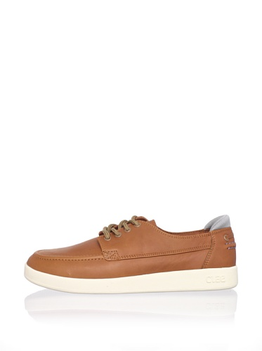 Clae Men's Zissou Sneaker (Caramel Leather)