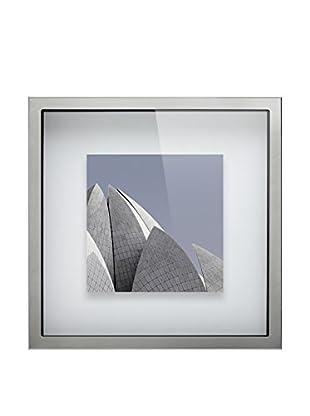Braid Concept Kunstdruck mit Rahmen metall