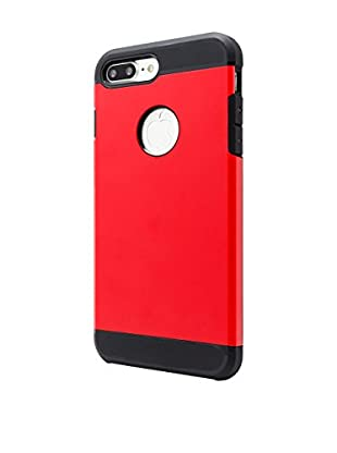 NUEBOO Hülle Armor iPhone 7 Plus rot