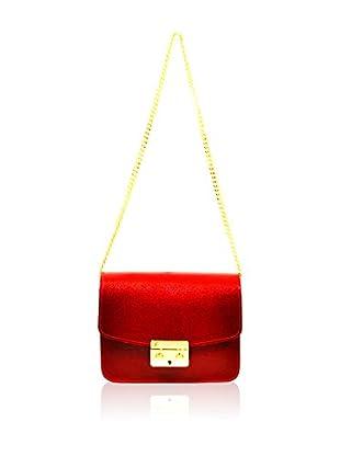 Carla Belotti Bolso asa al hombro Handbag Anabelle Red