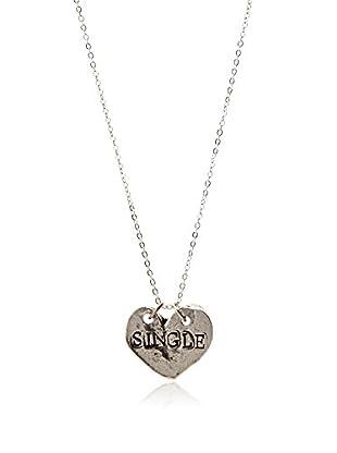 Alisa Michelle Single/Taken Heart Necklace