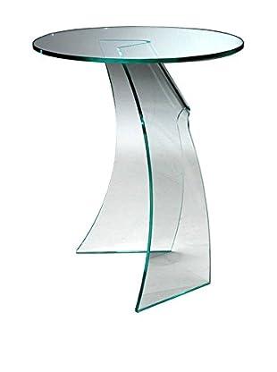 DC Glass  Mesa De Centro Mushroom Transparente