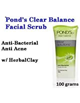 100g Pond's Clear Balance Solution Anti-bacterial Acne Expert Facial Scrub Wash