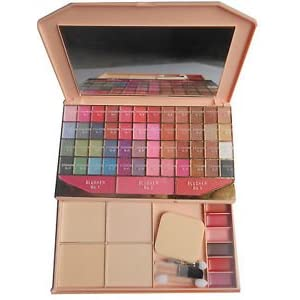 Kiss Beauty Ads Fashion Colour Make-Up Kit 32 Color Eye Shadow Laptop - Multi-Coloured