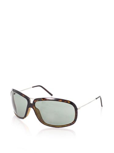 Giorgio Armani Women's Wrap Aviator Sunglasses (Shypallad/Dk Havana)