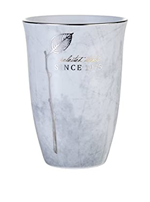 Lene Bjerre Adrienne Cement-Grey-Silver Mug