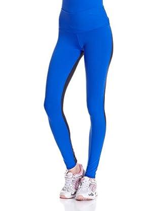 Naffta Pantalón Ajustado Active / Gym (Azul / Gris)