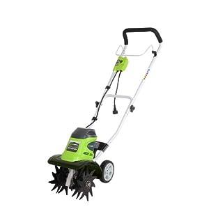 GreenWorks 27072 8 Amp 10-Inch Corded Tiller