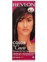 Revlon Brown Black 2N (Color N Care Combi)