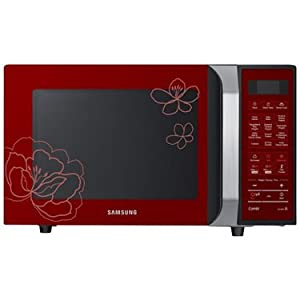Samsung CE103FF-2S Convection Microwave Oven - Red