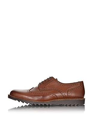 British Passport Zapatos Piel (Cognac)