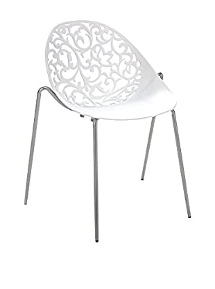 Contemporary Home Set Silla 4 Uds. Eura Blanco