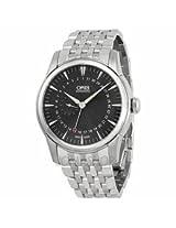 Oris Artelier Pointer Date Black Dial Stainless Steel Mens Watch 01 744 7665 4054-07 8 22 77