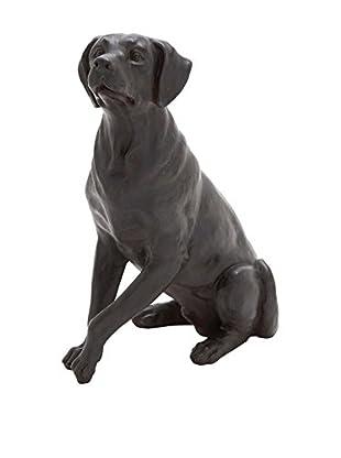 Deco 79 Polystone Sitting Dog Sculpture