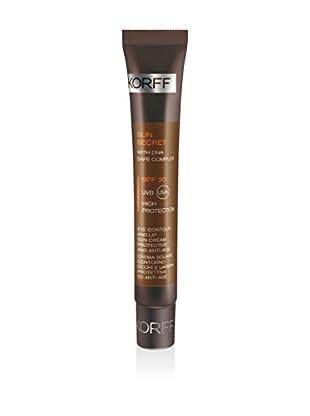 KORFF MILANO Sonnencreme für Augen- und Lippen-Kontour SPF 30 15 ml, Preis/100ml: 106,33 EUR