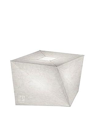 Artemide In-Ei Hakofugu Micro Lámpara De Mesa Blanco 24,7x24,7 H 16,4 cm