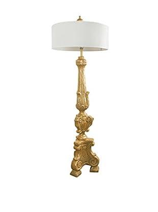 Floor Lamp, Gold
