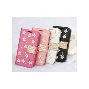 Premium Luxury PU Leather Flip Stand Back Case Cover For Samsung Galaxy Grand 2 G7102 - Pink