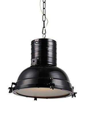 Urban Lights Industrial 1-Light Pendant Lamp, Black