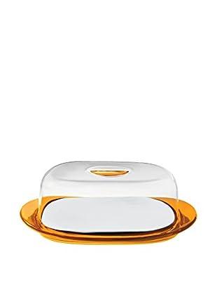 Guzzini Butterdose orange/transparent
