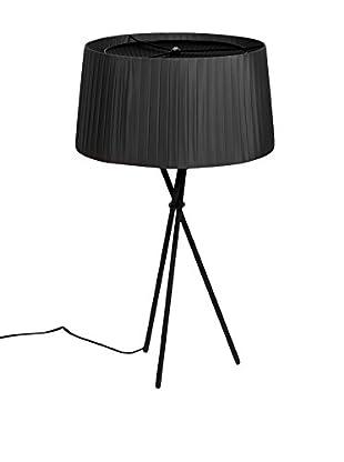 Lo+deModa Lampe Fosc schwarz