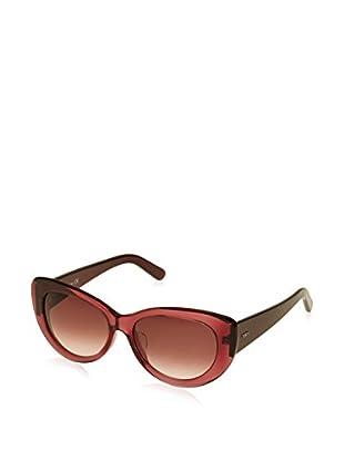 Tod'S Gafas de Sol TO0143- (56 mm) Fresa / Burdeos