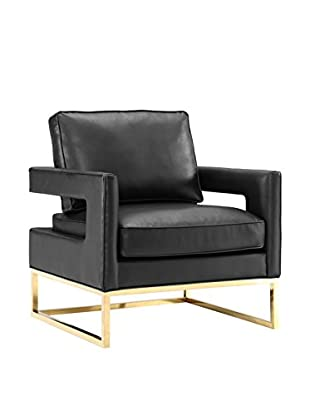 TOV Furniture Avery Bonded Leather Chair