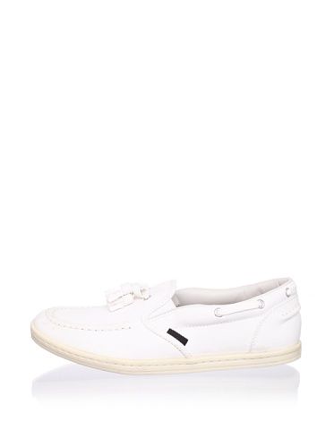 Ben Sherman Men's Nloy Loafer Sneaker (White)