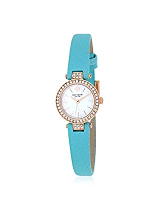 kate spade new york Women's 1YRU0758 Tiny Metro Blue/Green Stainless Steel Watch