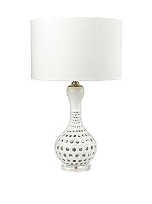 Artistic Lighting Table Lamp, Gloss White