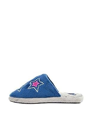 Gioseppo Kids Zapatillas de Estar por Casa Shiny (Azul Marino)