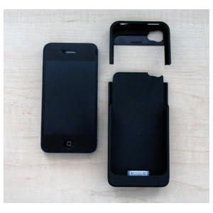 amix PROTECTION FIX エナジースキン for iPhone4S/iPhone4 Apple認証「Made for iPhone」1700mAh スクリーンガード・クリーニングクロス付属