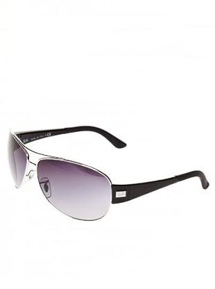 Ray Ban Sonnenbrille 3467 003/8G silber/schwarz/grau
