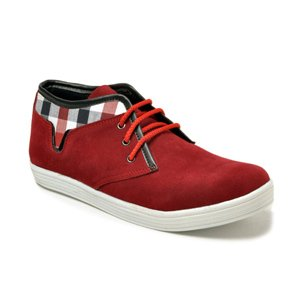 Bacca Bucci Casual Shoes (Red) - CHECK-C-T