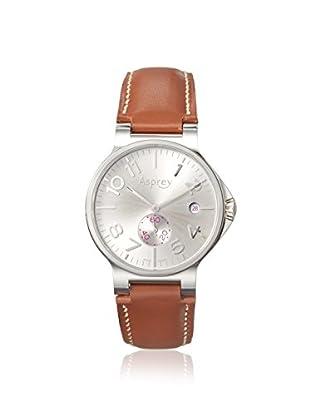 Asprey of London Men's 1008258 Brown/Silver Stainless Steel Watch