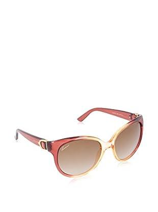 Gucci Sonnenbrille 3679/S 814SS56 granatrot