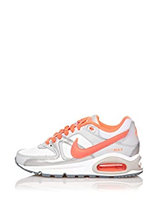 Nike Zapatillas Air Max Command (Gs) (Plata / Naranja)